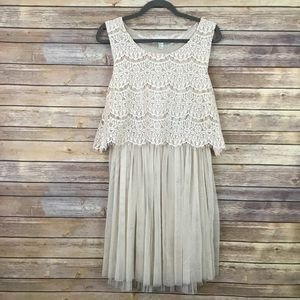 Forever 21 Plus Size 1x Sleeveless Party Dress.
